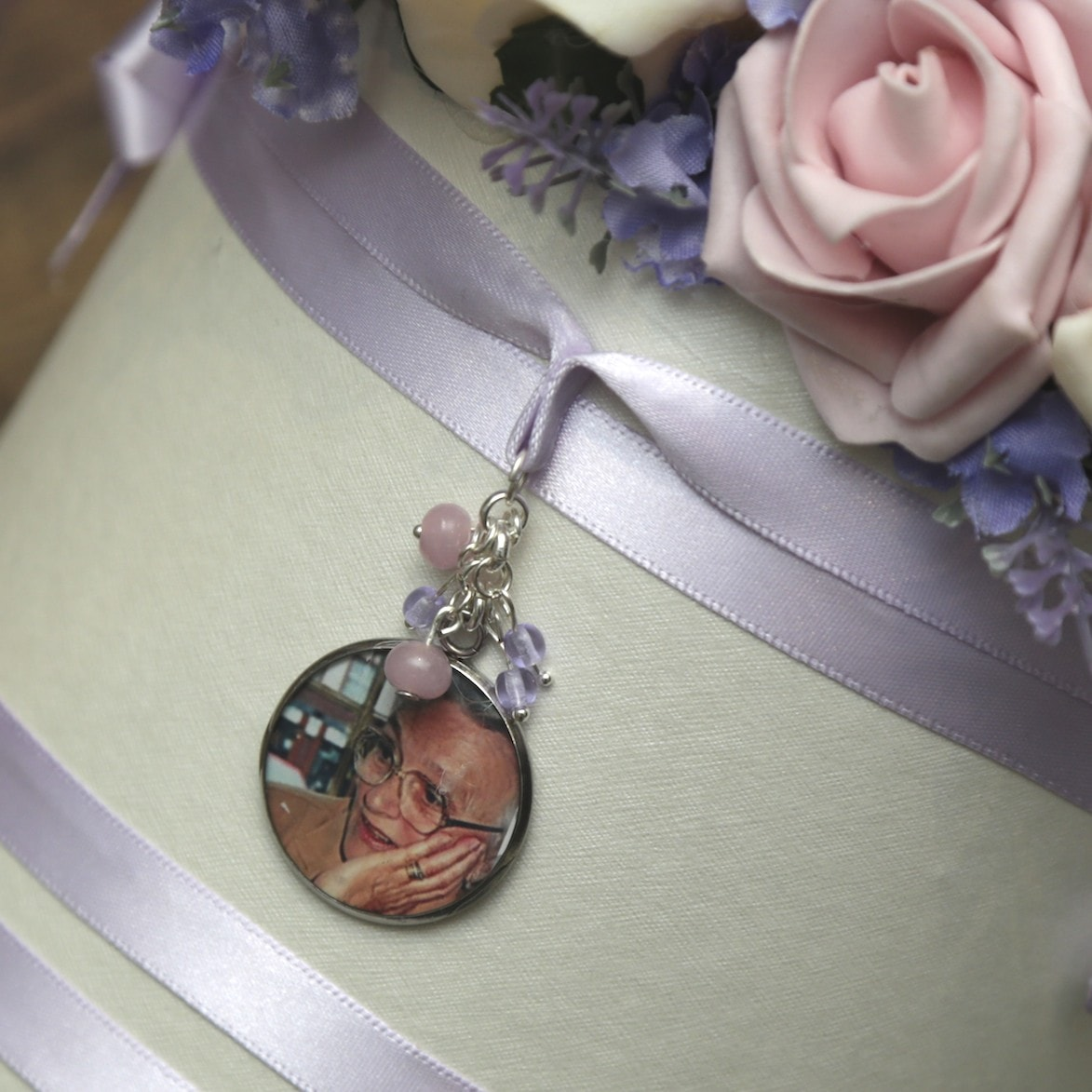 Bouquet Photo Memory Charm - Wedding Bouquet Charms